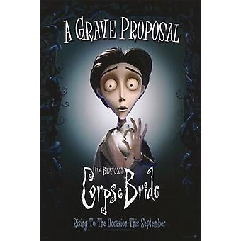 Tim Burtons Corpse Bride Movie Poster (11x17)