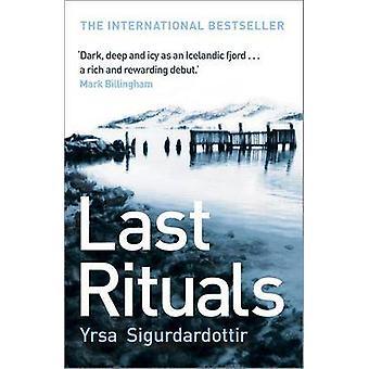 Last Rituals by Yrsa Sigurdardottir & Bernard Scudder