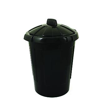 Charles Bentley 80 Litre Dustbin With Lid