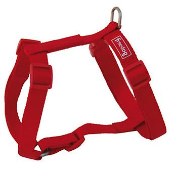 Freedog Harnais Nylon Basic Rouge (Chiens , Equipement , Harnais)