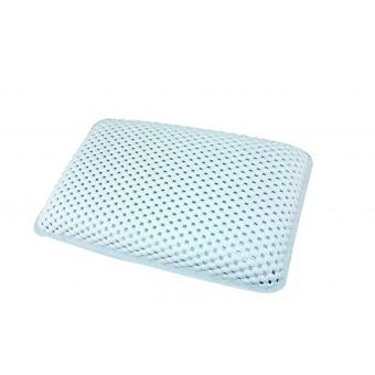 Luxury Bath Pillow with Suction Cup on Rear Secures the Cushion In Place