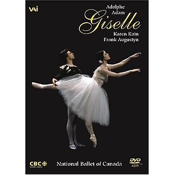 Giselle balett [DVD] USA import