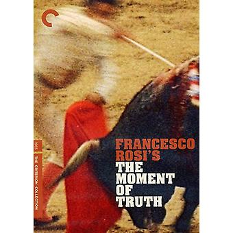 Moment of Truth [DVD] USA import