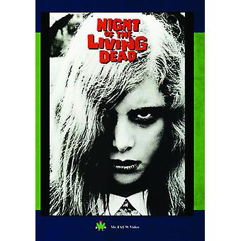 Nacht van de Living Dead [DVD] USA import