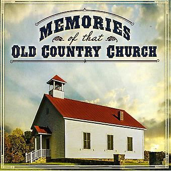 Erindringer om den gamle land kirke - erindringer om at gamle land kirke [CD] USA importerer