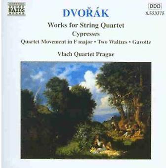 A. Dvorak - Dvorak: Works for String Quartets, Vol. 5 [CD] USA import