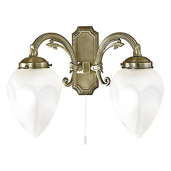 Eglo IMPERIAL Antique Bronze Wall 2 Light