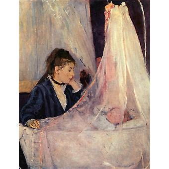 Berthe Morisot - The Cradle Poster Print Giclee