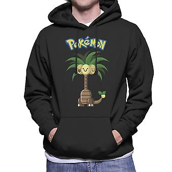 Alola Exeggutor Pokemon Sun Moon Men's Hooded Sweatshirt
