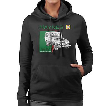 Haynes Owners Workshop Manual 0313 Toyota Landcruiser vrouwen de Hooded Sweatshirt