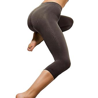 Solidea Silver Wave Corsaro Compression Leggings [Style 354A5] Moka (Dark Brown)  XXL