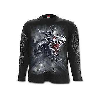 Spiral Direct Dragon's Cry Long Sleeve Gothic T-Shirt