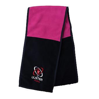 Kukri Ulster Rugby polar bufanda [negro/color de rosa]