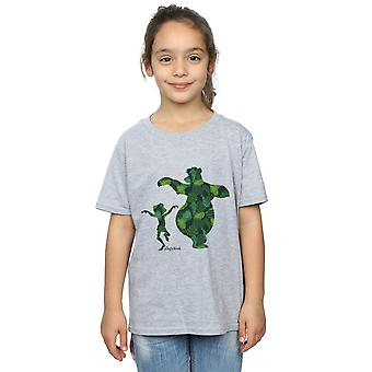 Disney Mädchen im Dschungel buchen Mowgli und Baloo Dance T-Shirt