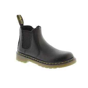 Dr Martens Juniors Banzai Chelsea Boot - Black Softy Leather