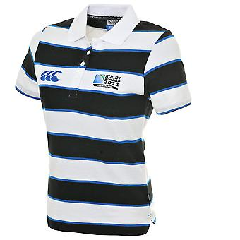 CCC Rugby World Cup 2011 Women's hoepel Stripe poloshirt