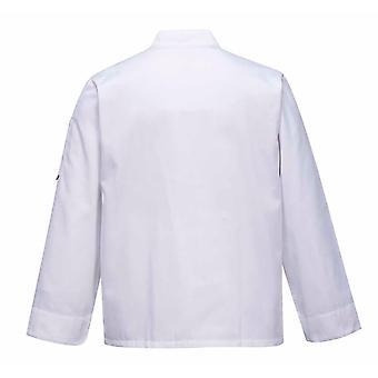 Portwest - Cross-Over Chefs Kitchen Workwear Jacket