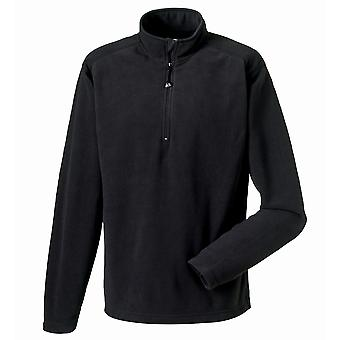 Russell Europe Mens 1/4 Zip Anti-Pill Microfleece Top