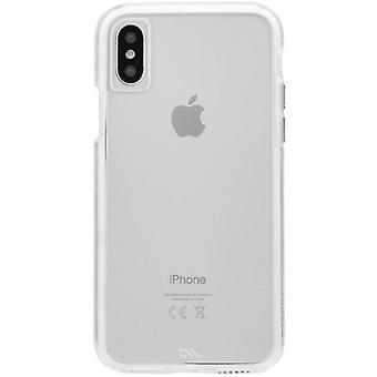 Case-Mate Tough clair iPhone Case X - Clear