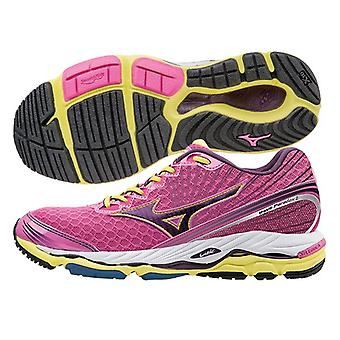 Mizuno AW15 Womens Wave Paradox 2 Running Shoes - Structured Cushion / Max Support - UK 5 - Pink