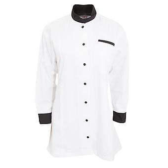 Dennys Womens/dames Contrast chef-kok/Food Service tuniek