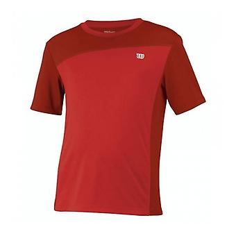 Wilson Rush crew T-Shirt kids Red