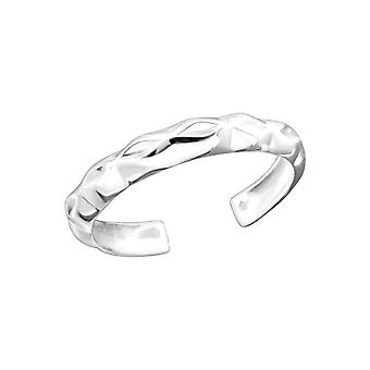 Pattented - 925 Sterling Silver Toe Rings - W20689x