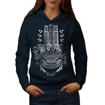 Ethnische Illuminati Frauen NavyHoodie | Wellcoda