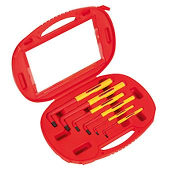 Sealey Ak7177 Hex Key Set 6Pc Extra-Long Vde