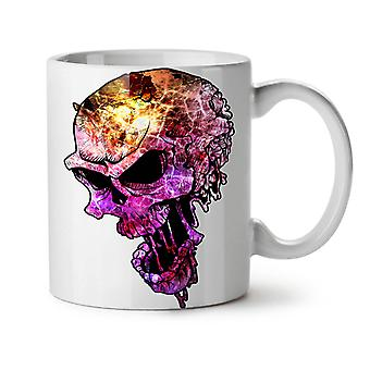 Colorful Metal Rock NEW White Tea Coffee Ceramic Mug 11 oz | Wellcoda