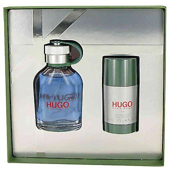 Hugo Boss Hugo Man Gift Set 75ml EDT + 75ml Deodorant Stick