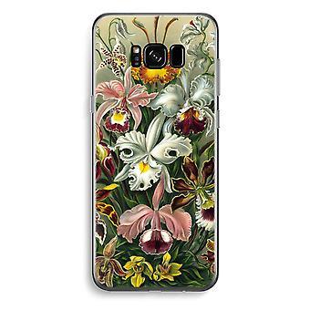 S8 de Samsung Galaxy Plus caja transparente (suave) - Haeckel Orchidae