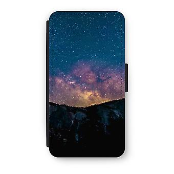 Huawei P9 Flip Case - Travel to space