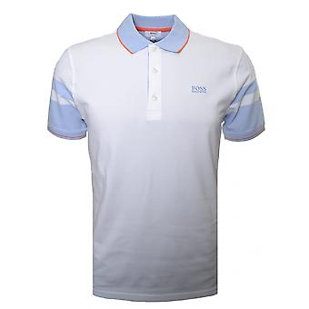 Hugo Boss jongens Hugo Boss Kids Wit poloshirt