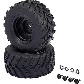 Reely 1:10 XS Monster truck Wheels V Block Hot lan
