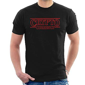 Stranger Things Crypto Currency Men's T-Shirt