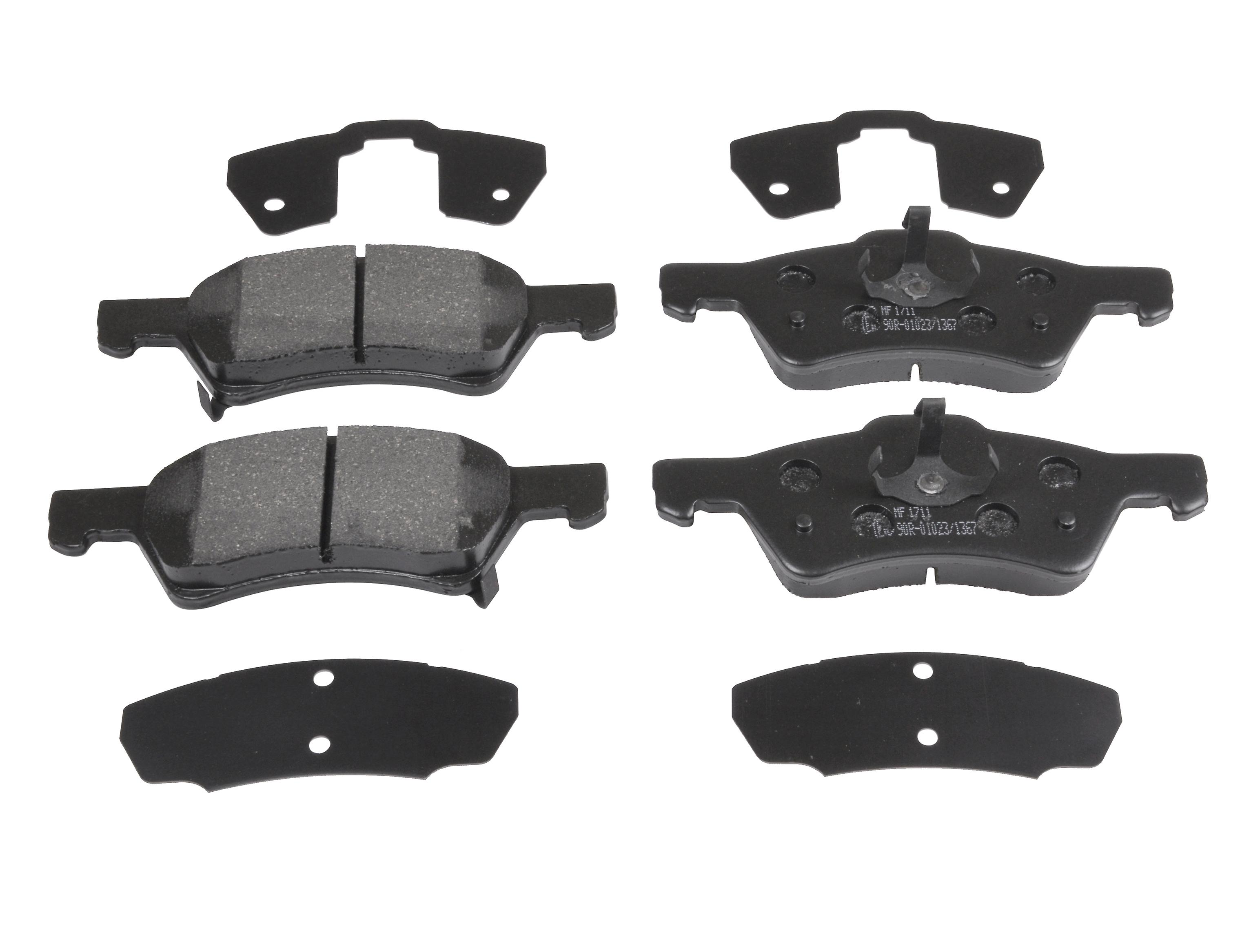 ReplaceHommest bleuprint Front Brake Pads (Full set for Front Axle) ADA104265