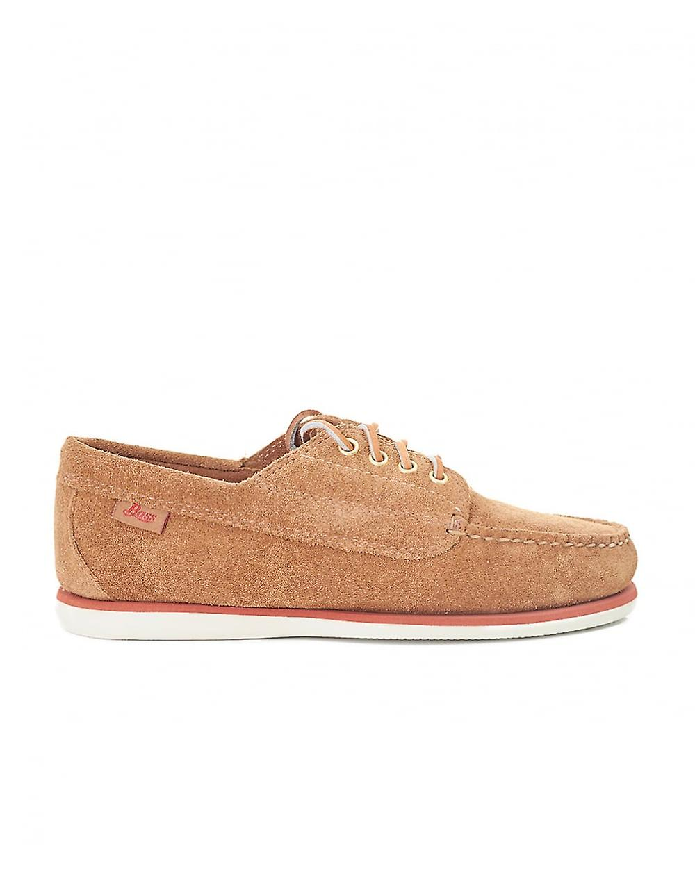Bass Weejuns Jackman Moc Light Suede Shoes