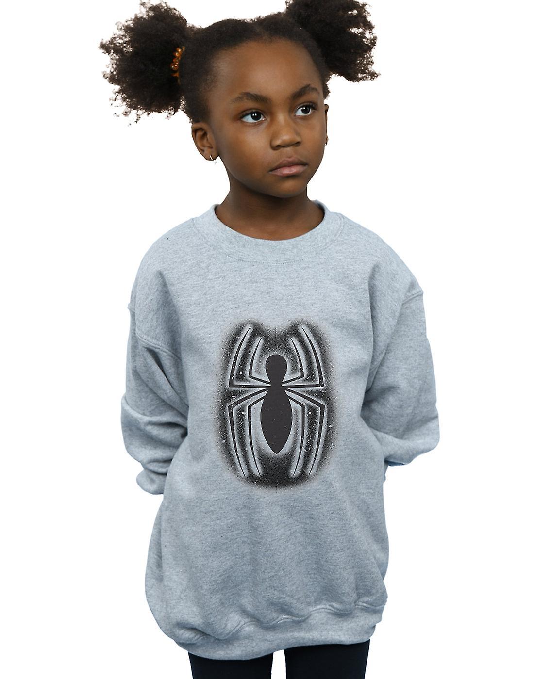 Filles de Marvel Spider-Man Graffiti Logo Sweatshirt