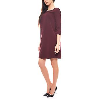 knee-length cocktail dress 3/4 sleeve Bordeaux b.c. by heine
