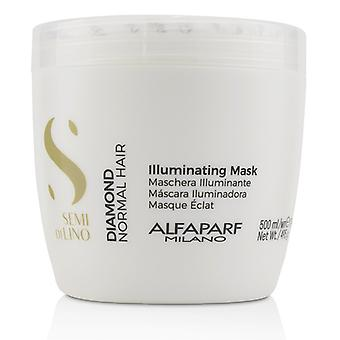 AlfaParf Semi Di Lino Diamond Illuminating Mask (Normal Hair) 500ml/17.4oz
