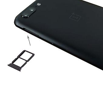 For ONEPlus 5 SIM cards Halter SIM tray SIM slide SIM holder black / grey