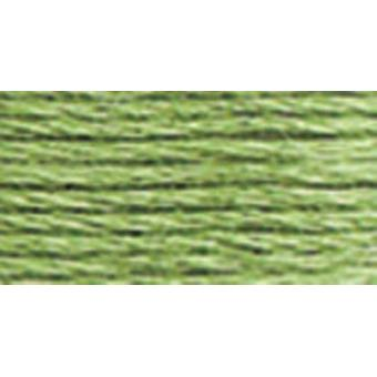 Anchor 6-Strand Embroidery Floss 8.75Yd-Grass Green Light