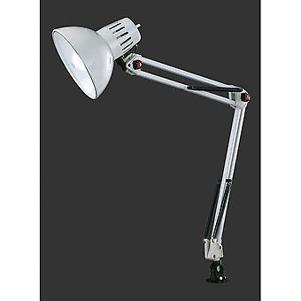 Trio Beleuchtung Tajo moderne Weißmetall spannen Lampe