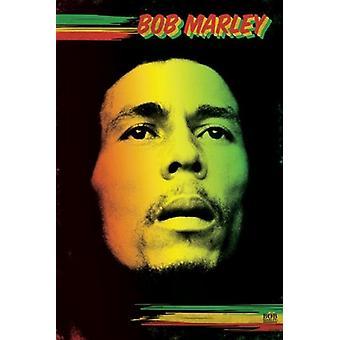 Bob Marley - Face Poster Poster Print