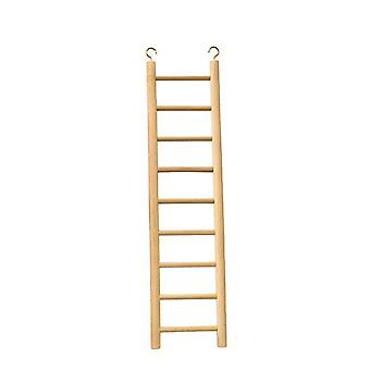 Beaks Wooden Budgie 9 Step Toy Ladder