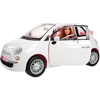 Fiat Barbie met pop