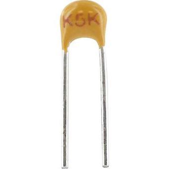 Ceramic capacitor Radial lead 10 nF 100 V 10 %
