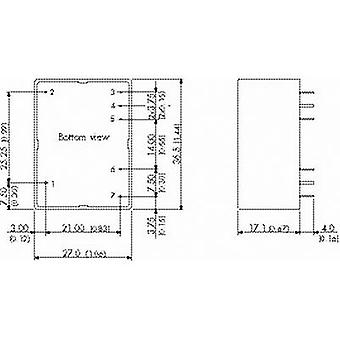 TracoPower TMPM 04105 AC/DC PSU module 0.8 A 4 W 5 Vdc