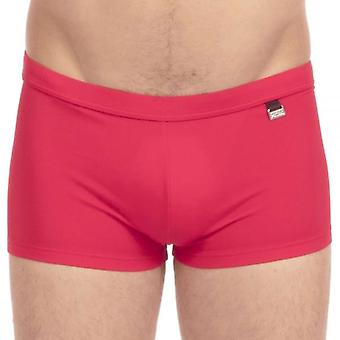 Hom Marina Swim Shorts, Red, X-Large